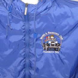 MARC Hooded Jacket with Car Logo