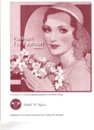 Passion For Fashion Volume 1
