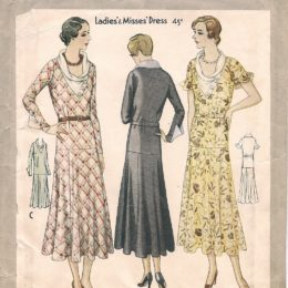 McCall 6556  Ladies' Dress    Size 36