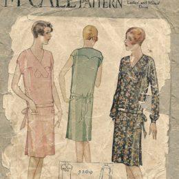 McCall 5269   Ladies' Dress     Size 36