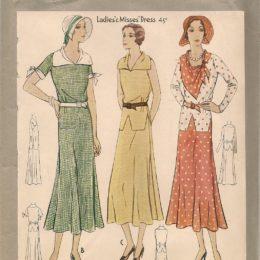 McCall 6593   Ladies'  Dress    Size 36