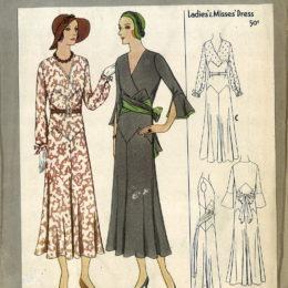 McCall 6636     Misses' Dress      Size 16