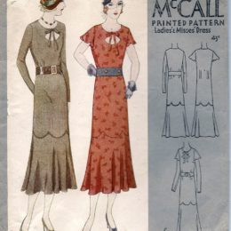 McCall 6746     Misses' Dress     Size 14