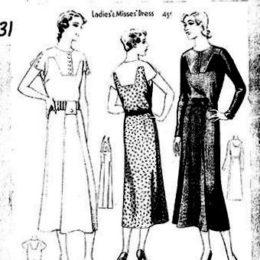 McCall  6574     Ladies' Dress      Size 36