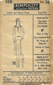 Simplicity 312 ed