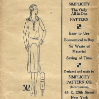 Simplicity 312   Misses' Dress     Size 16