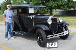 Jan Wyckoff, Sycamore, IL 1930 Deluxe Fordor Masters 485 Points