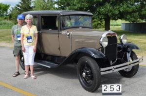 Tom Wright, Howell, MI 1930 Deluxe Fordor Masters 478 Points