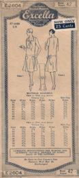 Excella 2604 Ladies' Dress    size 42