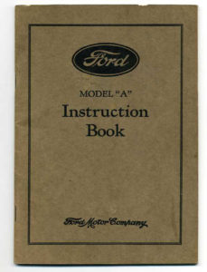 Ford instruction Book002fb