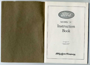 Ford instruction Book003fb