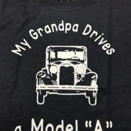 "Grandpa Drives a Model ""A"" T-Shirt"