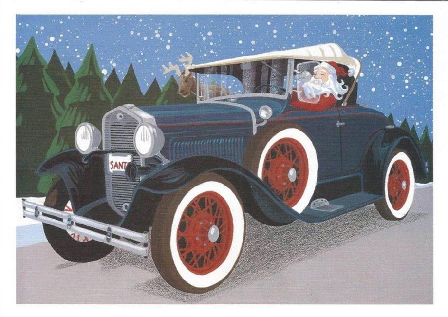 Model A Christmas Cards – Model A Restorers Club