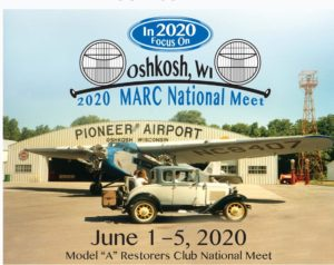 National Meet in Oshkosh WI. @ Not yet available